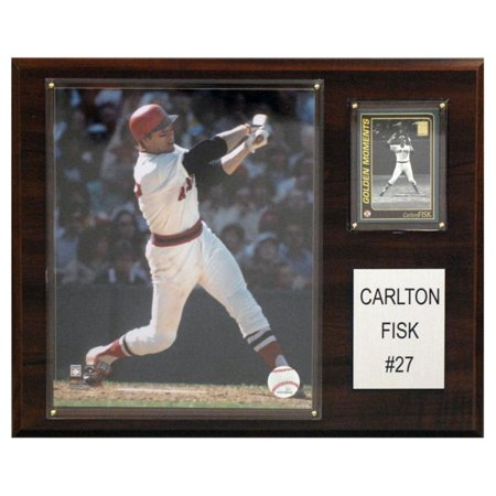 C&I Collectables MLB 12x15 Carlton Fisk Boston Red Sox Player (Carlton Fisk Plaque)