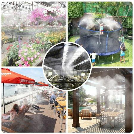 Cotonie 49FT Trampoline Waterpark Sprinkler Best Outdoor Summer Toys For Kids Outside