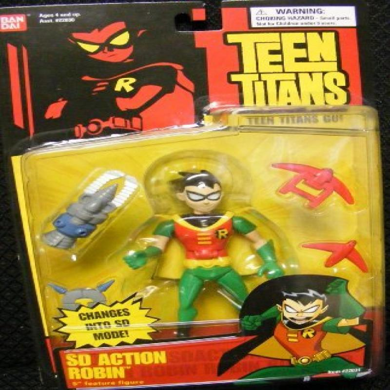 Teen Titans Robin 5.5 Inch Action Figure w SD action by