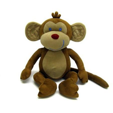 NoJo Jungle Babies Milton The Monkey - Stuffed Animal - Walmart.com