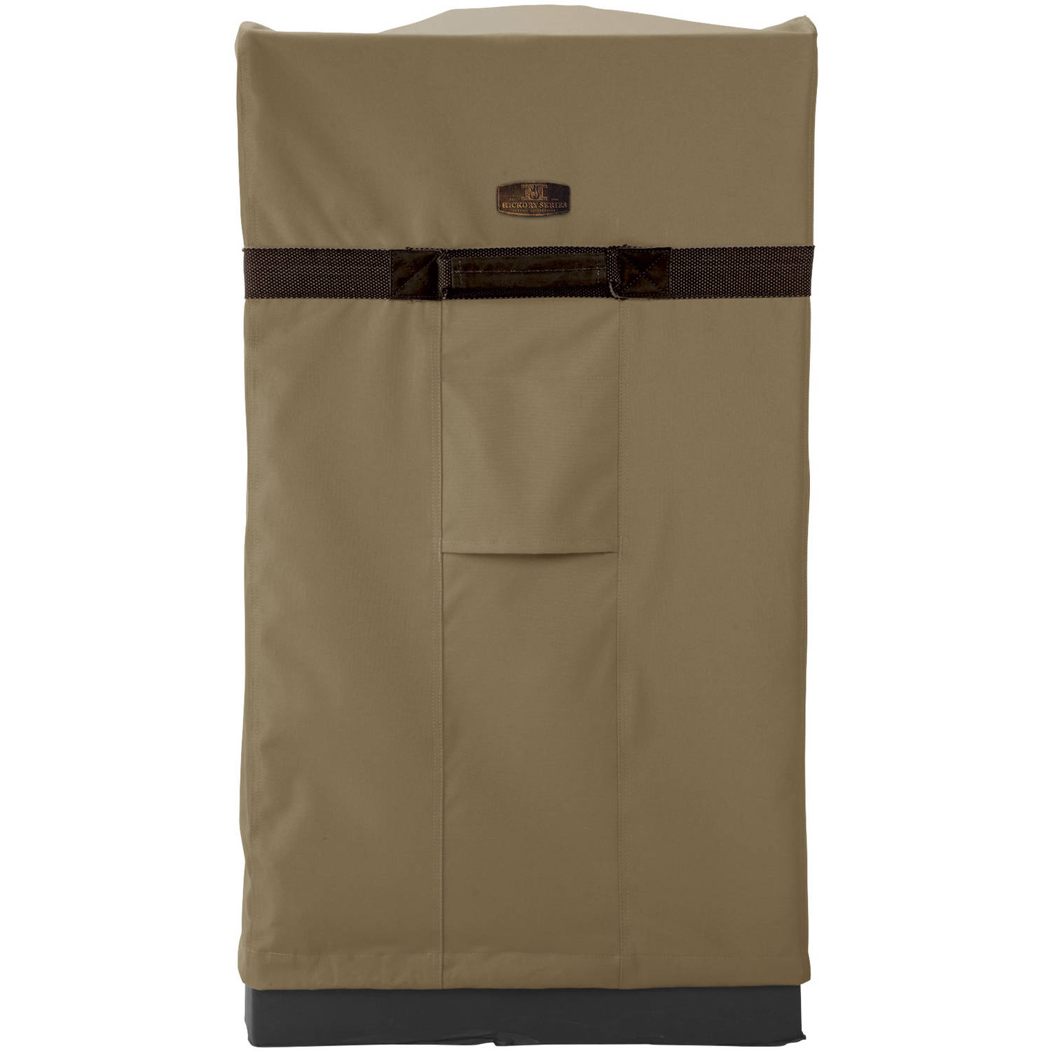 "Classic Accessories Hickory Square Smoker Patio Storage Cover, Up to 16""L x 21""W, Large"