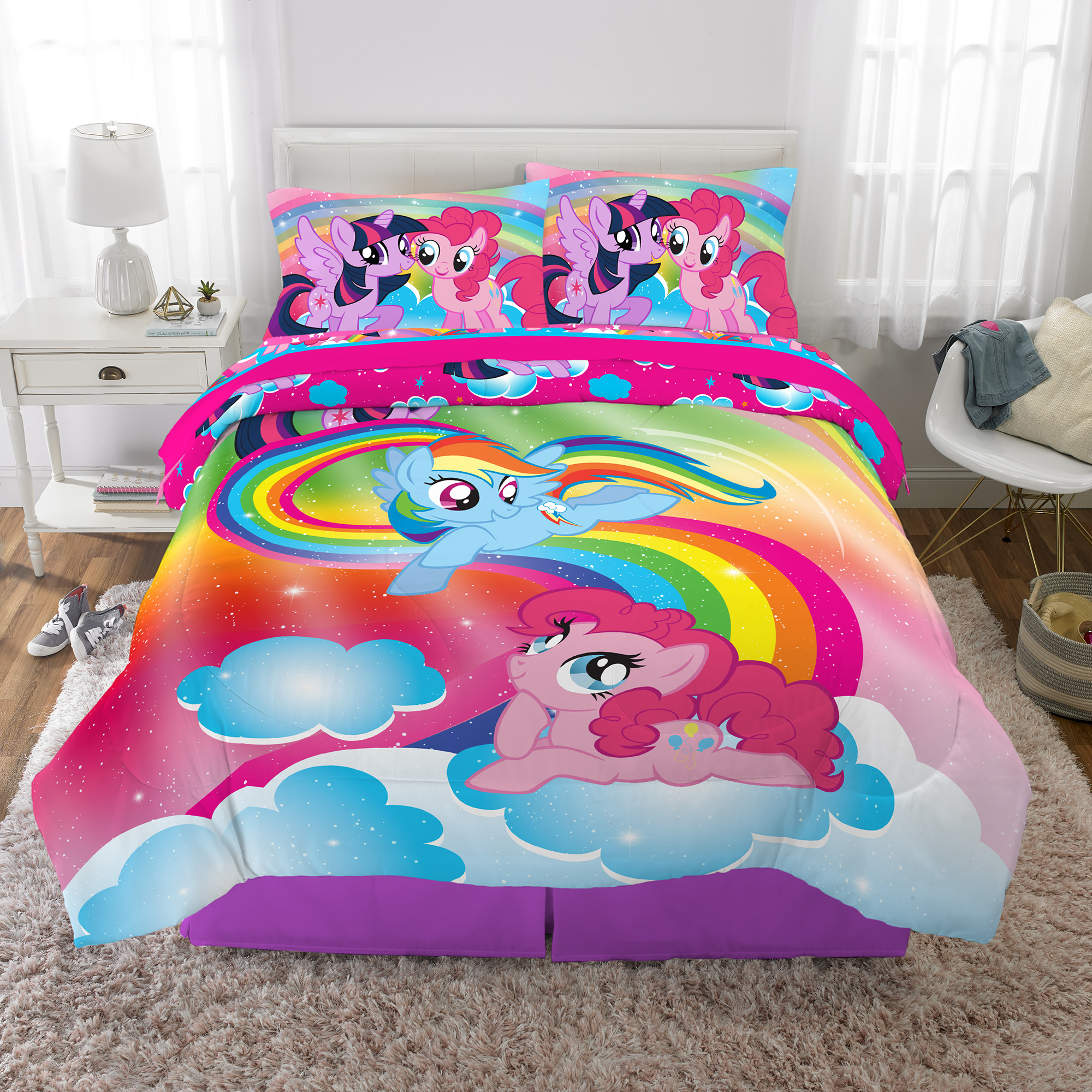 my little pony kids bed in a bag bedding set soft