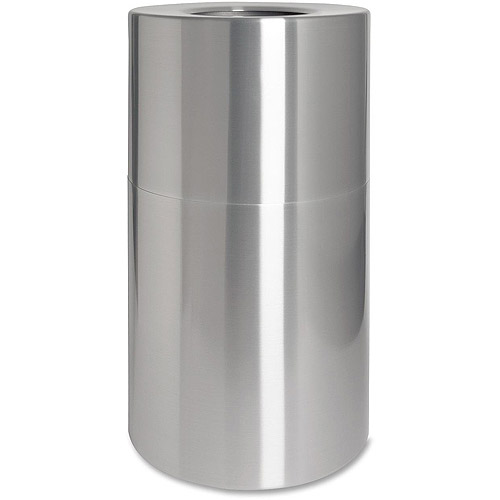 Genuine Joe Classic Cylinder 2-pc Waste Receptacle