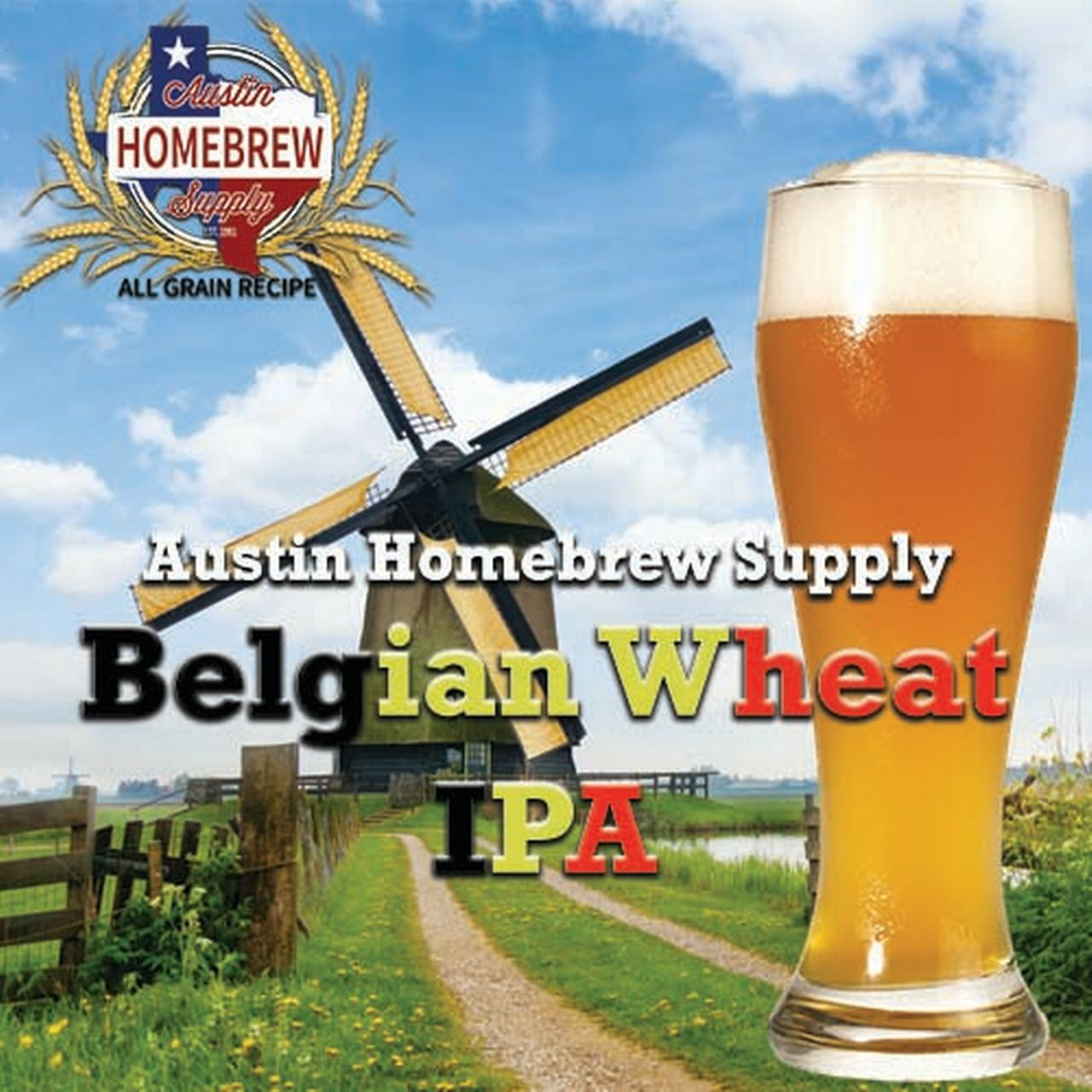 Austin Homebrew Belgian Wheat IPA (14B) - ALL GRAIN