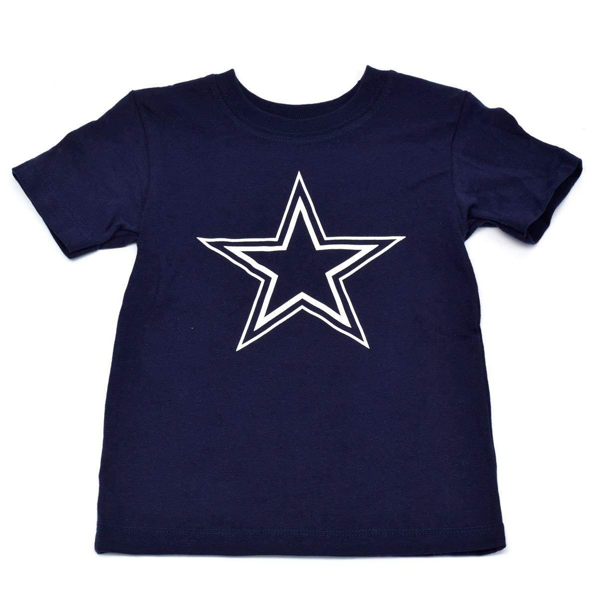 Dallas Cowboys Toddlers Navy Logo Premier T-Shirt