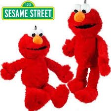 Sesame Street Elmo Stuffed Animal, 15 inches - Elmo 2 In 1 Walker