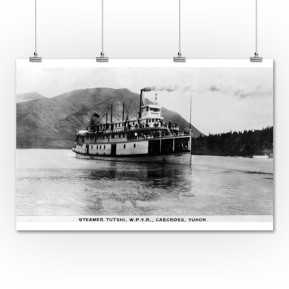 Lantern Press Carcross, Yukon - Western Pacific Yukon Rai...
