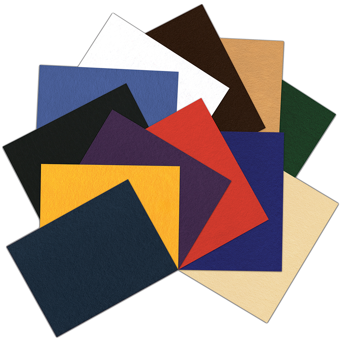 Classic Craft Felt Value Pack, Neutral Colors