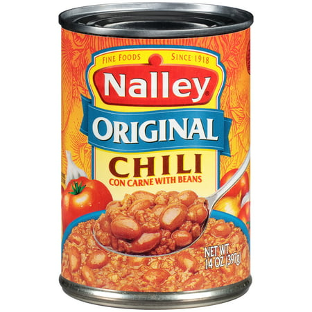 Nalley  Original Chili Con Carne With Beans 14 Oz  Can