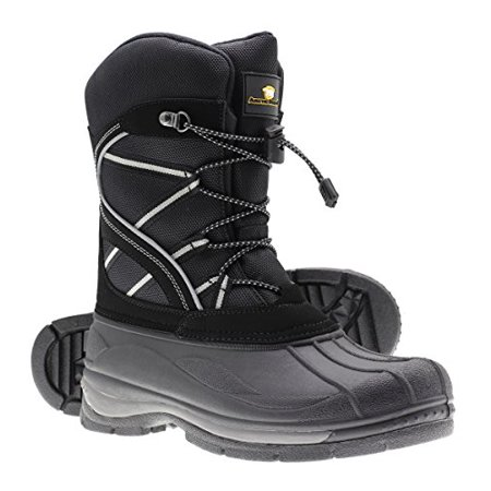 Arctic Shield Mens Warm Comfortable Insulated Waterproof Durable Outdoor Ski Winter Snow Boots