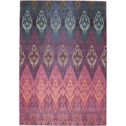 Momeni Abode Multi Power-Loomed Graphic Rug (7'10 x 9'10) by Overstock