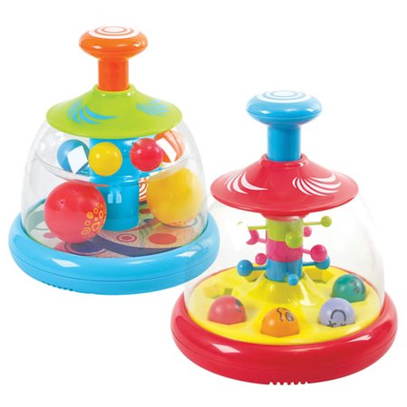 Spinning Ball Domes (Set of 2) - Spinning Light Ball Toy