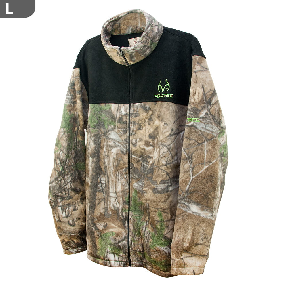 Realtree Men's Aspen RT-XTRA & Black Panels Jacket, Large by Realtree