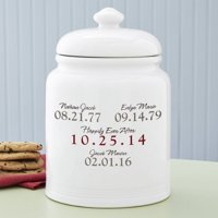 Personalized What a Difference a Day Makes Treat/Cookie Jar