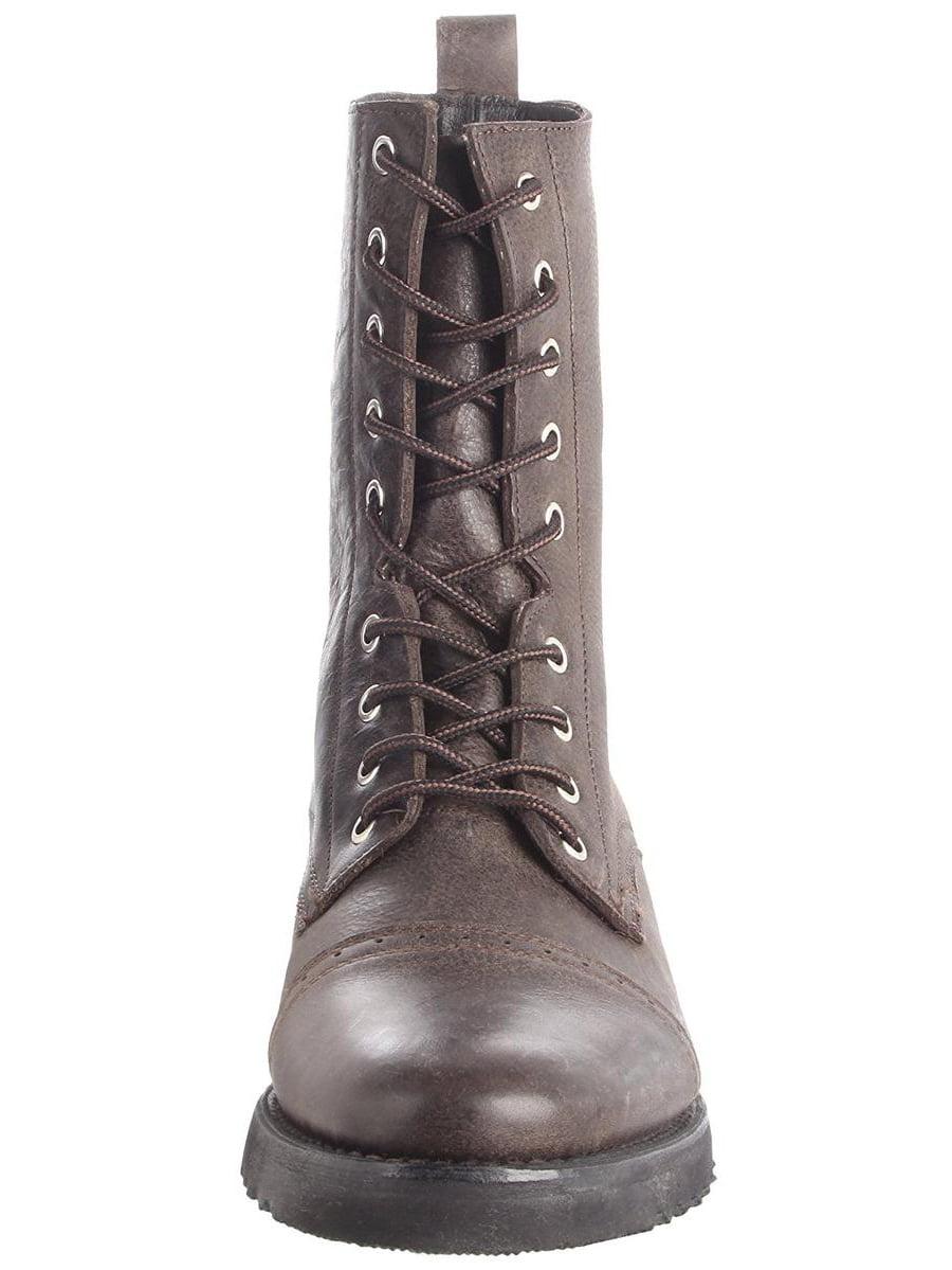 J.D. Fisk Men's Gabe Grey Lace-Up Combat Boots 11M