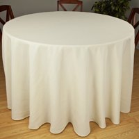 """Riegel Premier Hotel Quality Tablecloth, 90"""" Round, Multiple Colors Available by Mount Vernon Mills, Inc"""