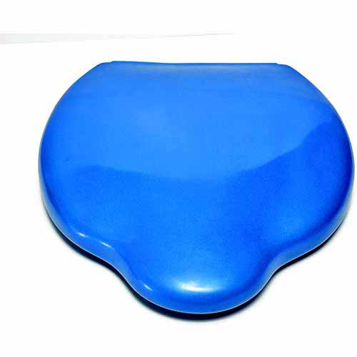 "School Specialty Sit on Air Adjustable Cushion, 14"" x 12"", 15"", Blue"