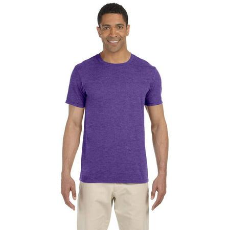 c20ef119a6 Gildan G640 Softstyle Men's T-Shirt -Heather Purple-3X-Large