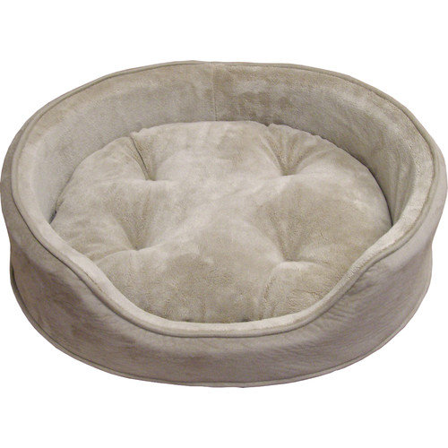 FurHaven Snuggle Terry & Suede Pet Bed
