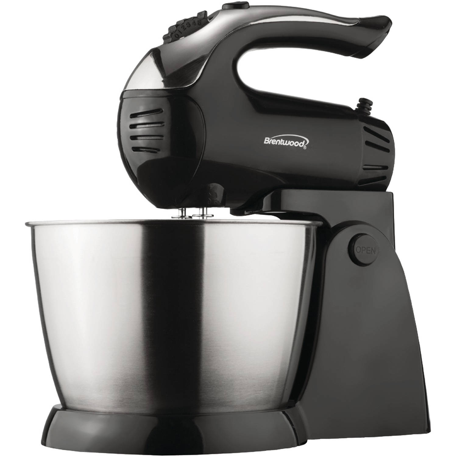 Brentwood Appliances SM-1153 5-Speed Stand Mixer with Stainless Steel Bowl by Brentwood Appliances