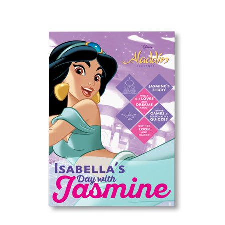 Princess Jasmine Outfit Ideas (Disney Princess: Your Day with Jasmine - Personalized)