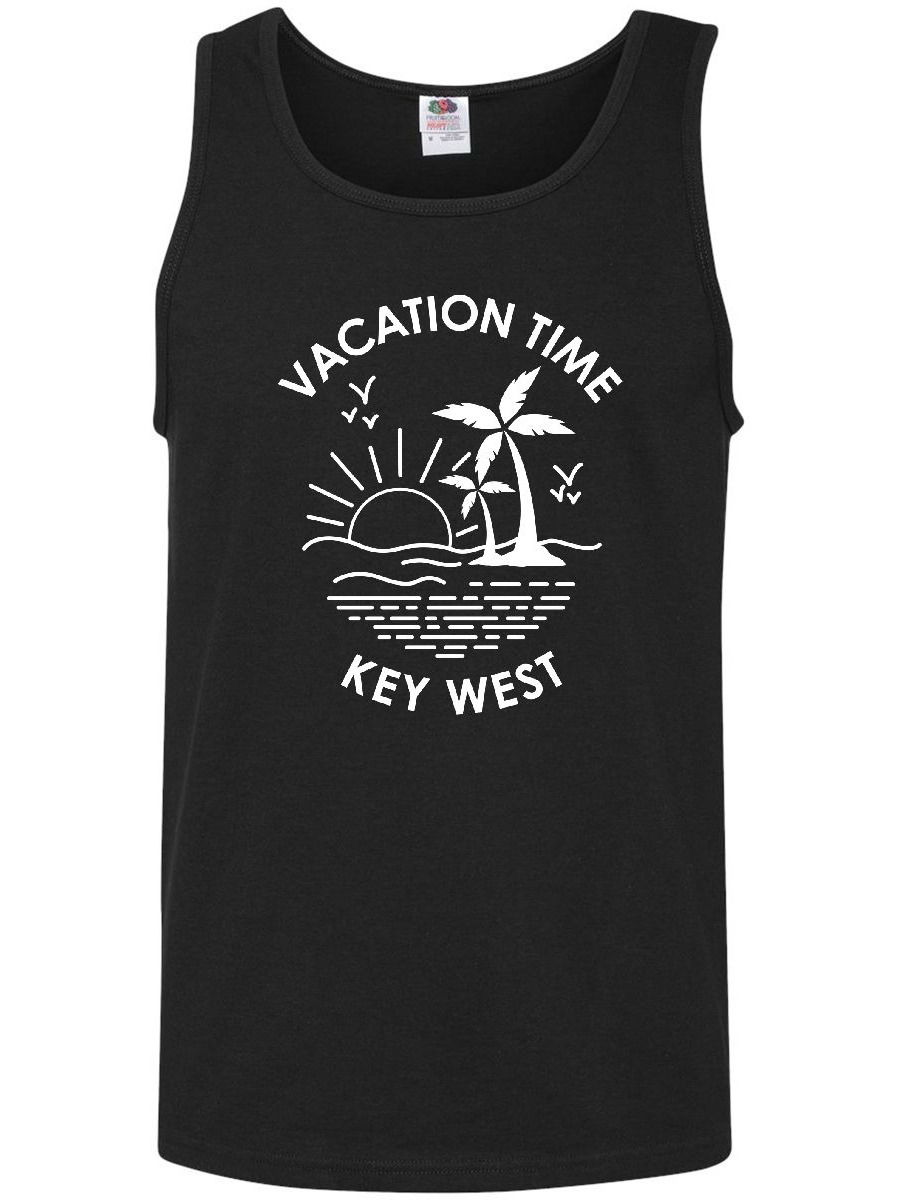 Vacation Time in Key West Men's Tank Top