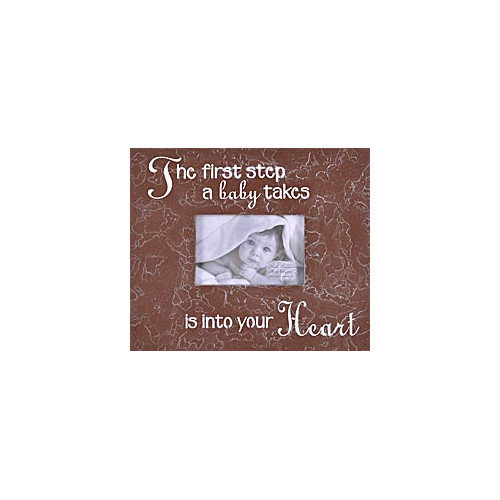 Forest Creations The First Step a Baby Takes... Picture Frame