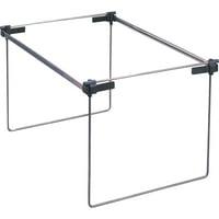 Smead Hanging File Folder Frame, Adjustable Letter/Legal/A4, Gray, 2 per Pack (64855)