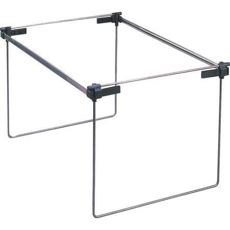 Adjustable Hanging Folder Frame Drawer (Smead Hanging File Folder Frame, Adjustable Letter/Legal/A4, Gray, 2 per Pack)