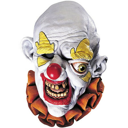 Freako The Clown Adult Halloween Mask Accessory - It Clown Halloween Mask
