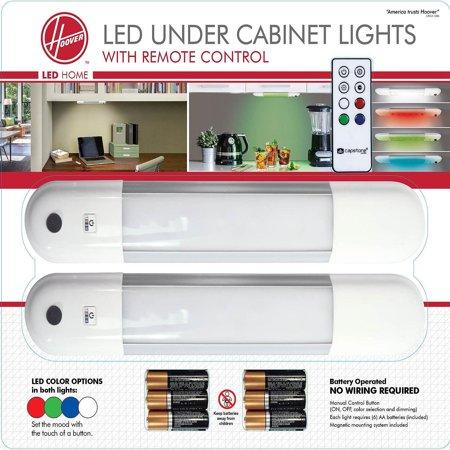 Hoover Led Color Changing Under Cabinet Light Fixture W