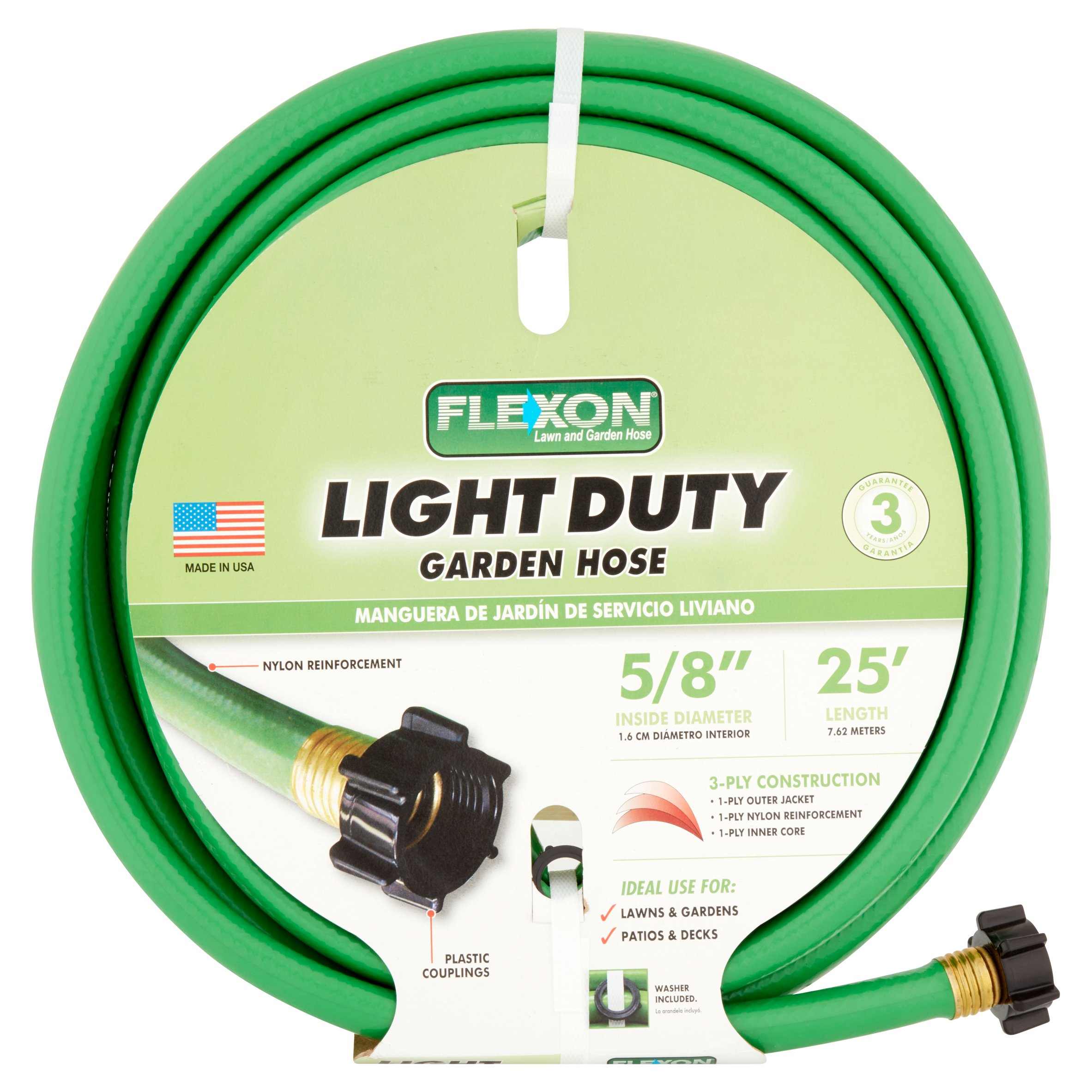 Flexon Light Duty Garden Hose