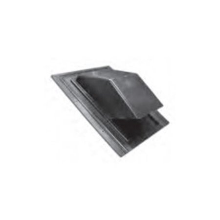 Lambro 356 6 in. Black Plastic Roof Cap