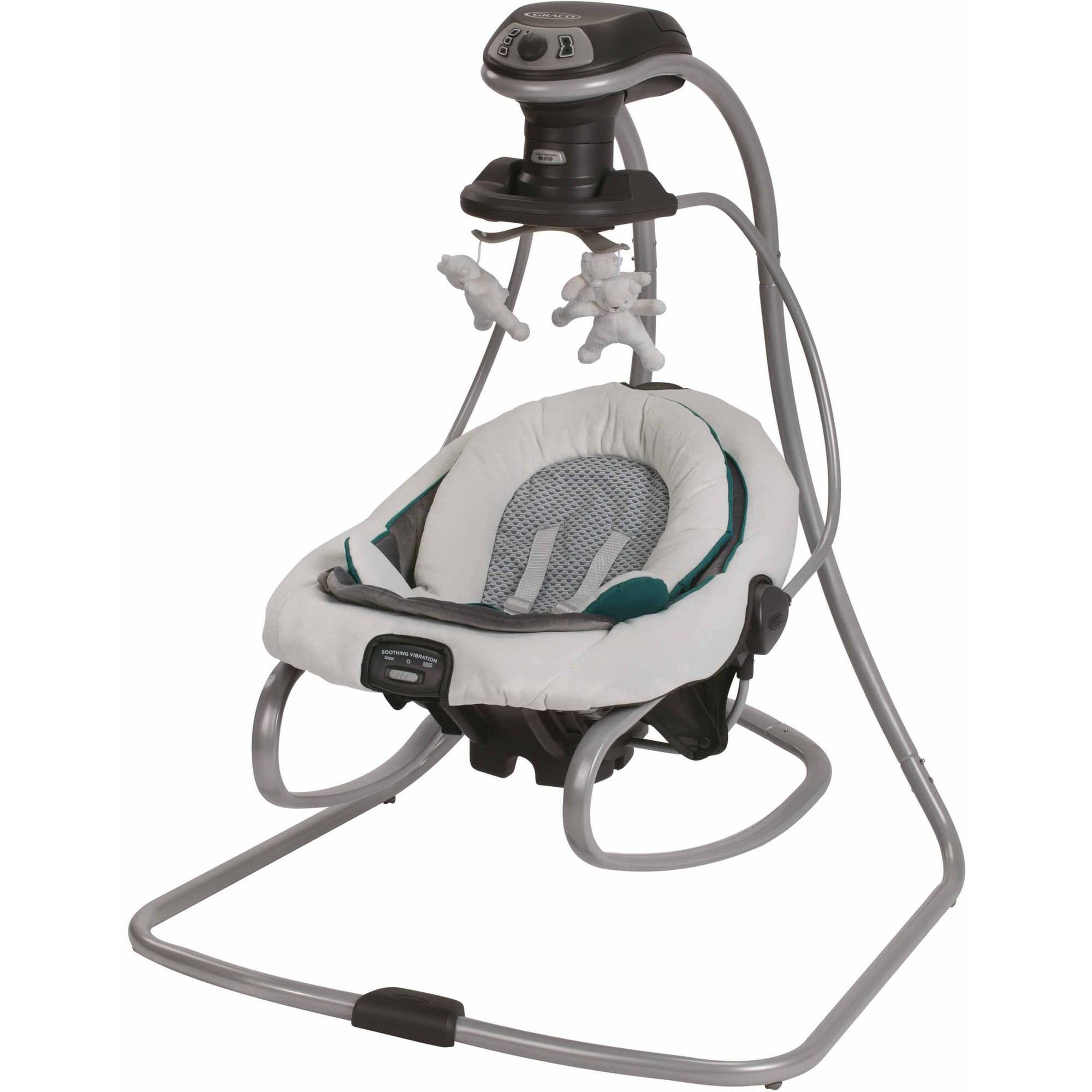 Graco DuetSoothe Swing and Rocker, Sapphire
