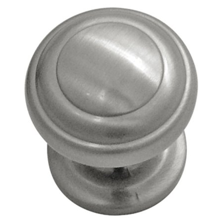Hickory Hardware P2283-SN 1.25 In. Zephyr Satin Nickel Cabinet Knob