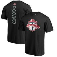 Sebastian Giovinco Toronto FC Fanatics Branded Backer Name & Number T-Shirt - Black