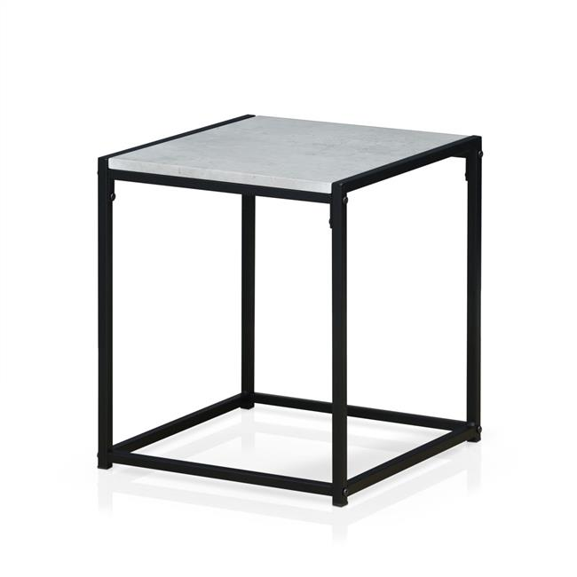 Modern End Table, Stone