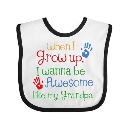Grandpa Bib - Awesome Like My Grandpa Baby Bib