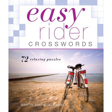 Easy Rider Crosswords : 72 Relaxing Puzzles