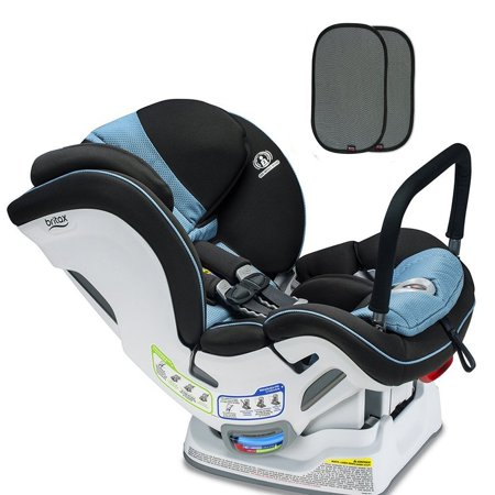 Britax Boulevard ClickTight ARB Convertible Car Seat Poole With E Z Cling Sunshade Set