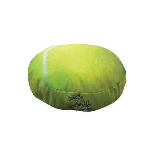 Dogzzzz Round Tennis Ball Dog Pillow