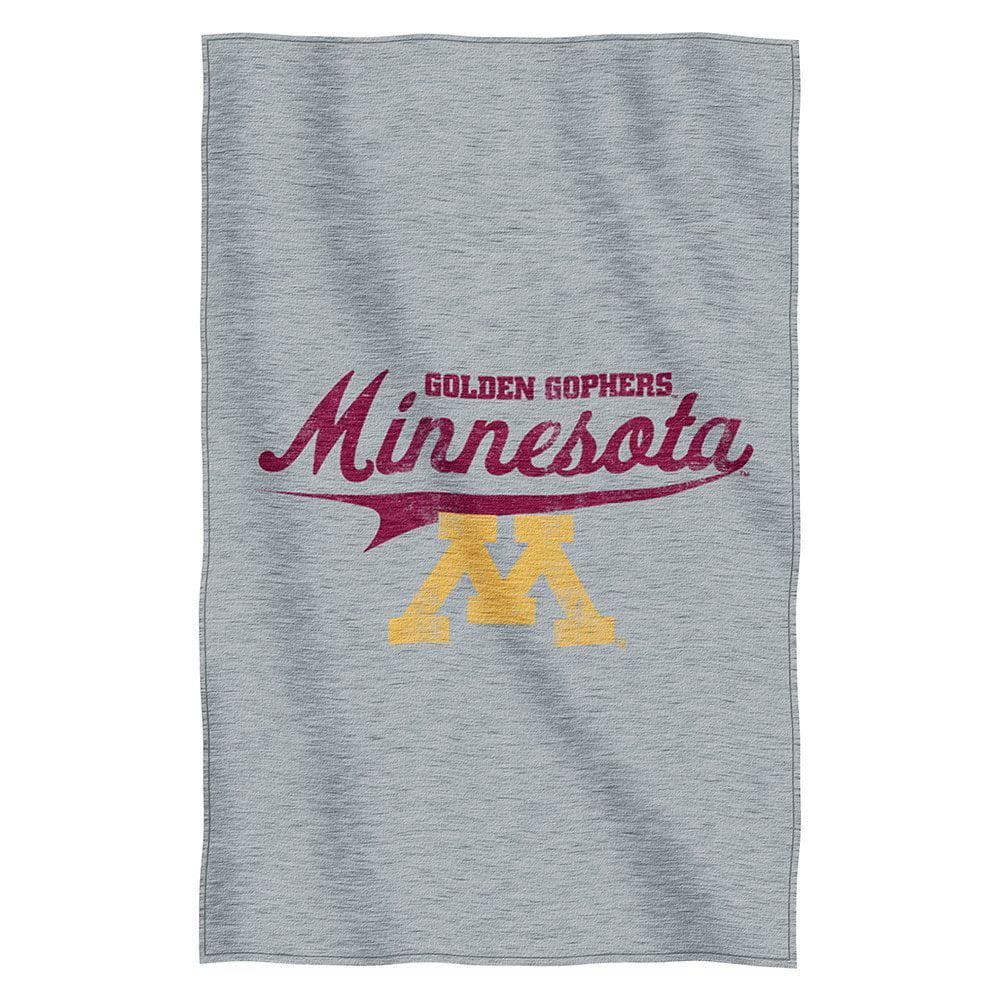 Minnesota Golden Gophers NCAA Script Sweatshirt Material Poly/Cotton Throw