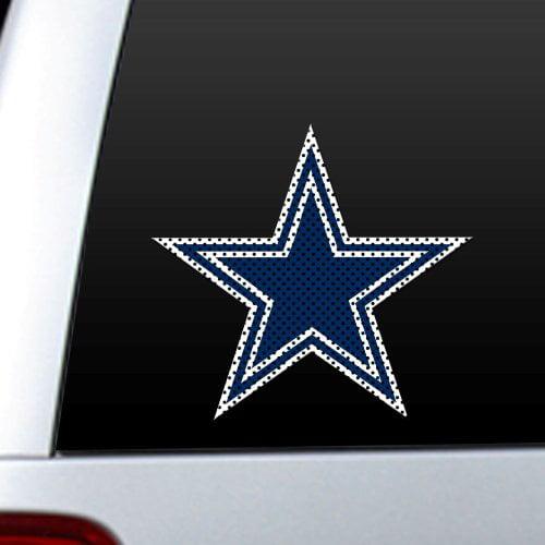 NFL Dallas Cowboys Die Cut Window Film