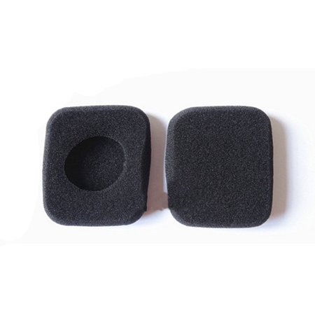 VEVER® Replacement Sponge Earpads Ear Pads PAD Cushion for B&O Bang & Olufsen Form 2i beo Square Headset LC8200 Bluetooth Headphone (with VEVER LOGO (Bang And Olufsen Form 2 Replacement Ear Pads)
