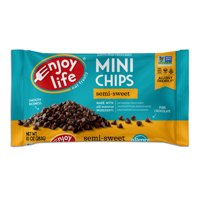 Enjoy Life Semi-Sweet Mini Chips, Dairy Free Chocolate Chips, 10 oz