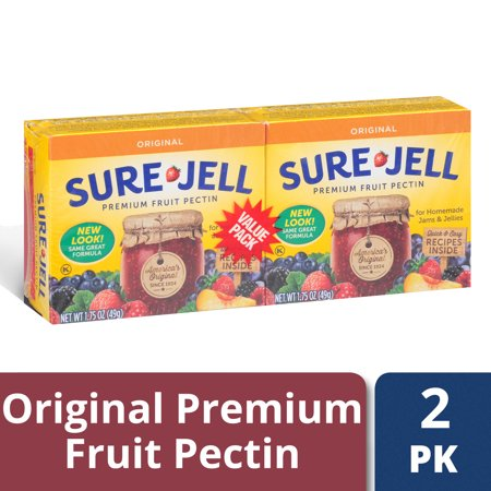 Sure-Jell Original Premium Fruit Pectin 2 - 1.75 oz (Original Fruit Pectin)