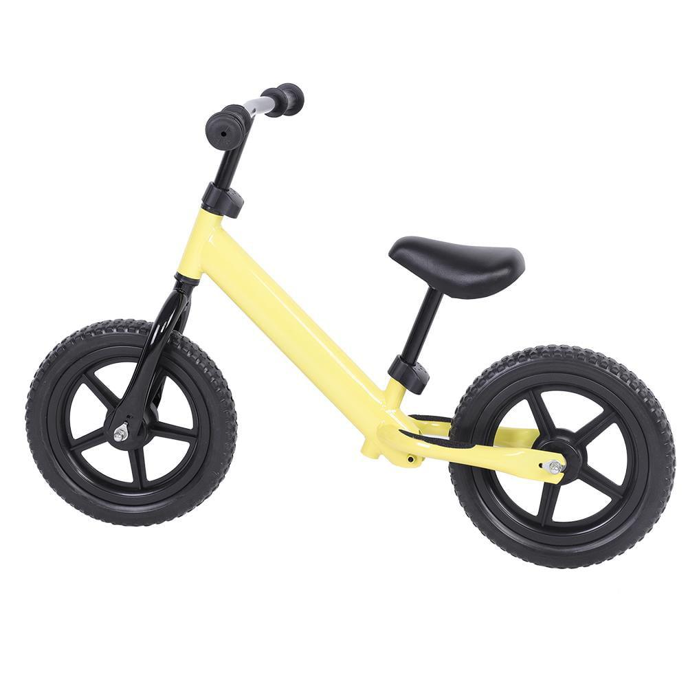 12/'/' Wheel Carbon Steel Kids Balance Bicycle Children No-Pedal Bike 4 Colors US