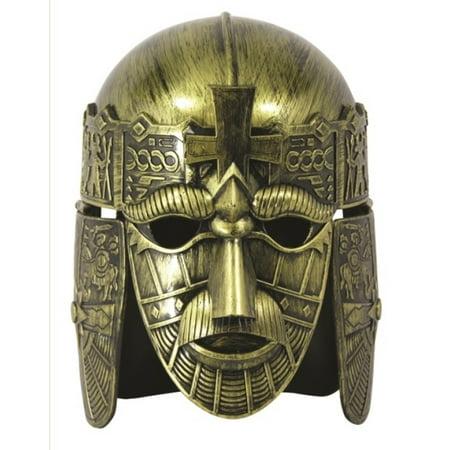 Medieval Warrior Helmet Battle Armour Gladiator Face Mask Costume Accessory - image 1 de 1