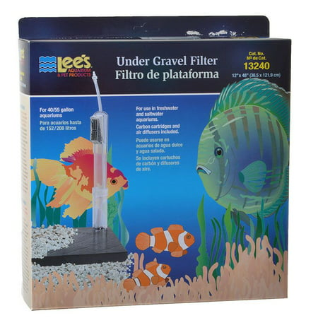 Lees Original Undergravel Filter 48 Long x 12 Wide (40-55 (Lees Sponge Filter)