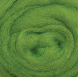 "Wistyria Editions Wool Roving 12"" .22oz-Lime"